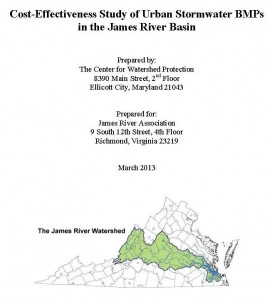 James River Study front page