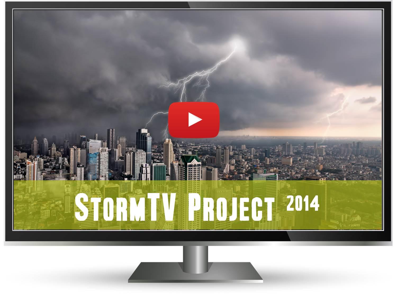 StormTV project header
