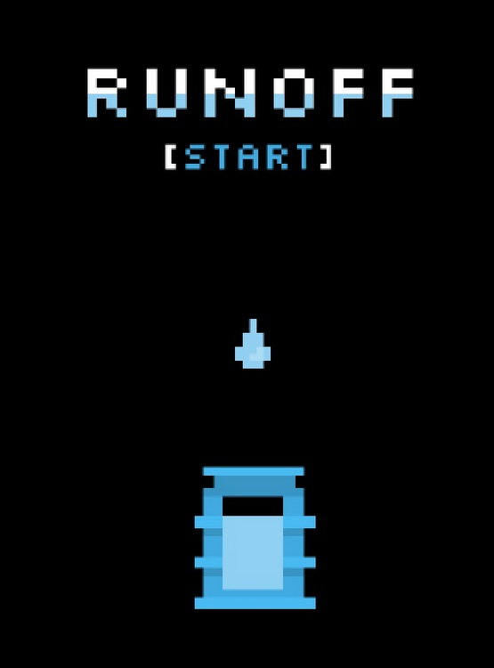 Runoff can be played as a mobile application or arcade-style at the ECHO Lake Aquarium and Science Center.