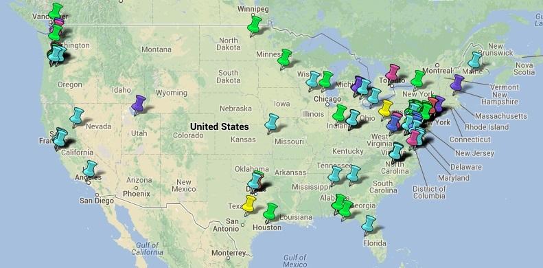 StormTV Map