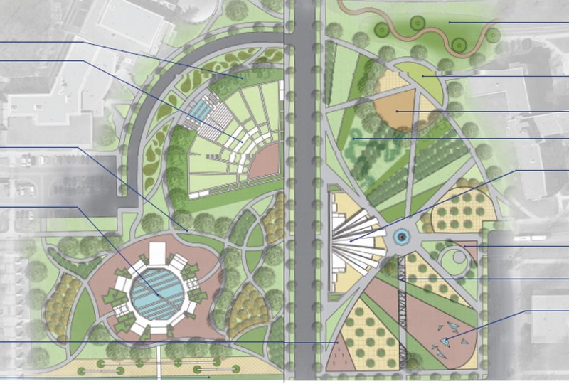Michigan State University, East Lansing - Second Place, Master Plan Category
