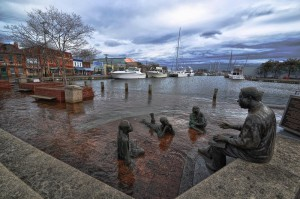 Annapolis, Md. nuisance flooding in 2012. Photo Credit: Amy McGovern