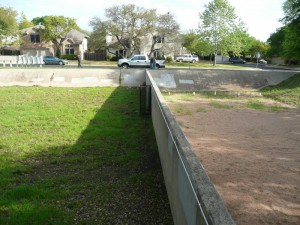 The Austin sand filter. Image credit: COA-WPD-WQM