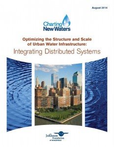 Integrating distributed systems into urban water infrastructure