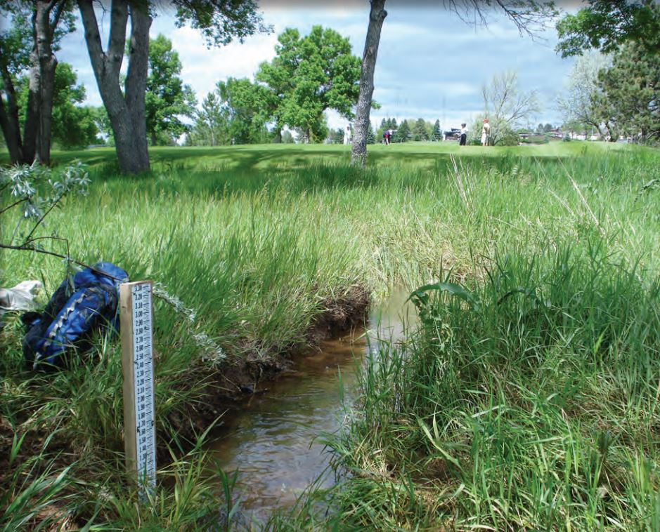 The U.S. Geological Survey evaluated stormwater runoff in Rapid City, South Dakota from 2008 to 2014. Image by USGS