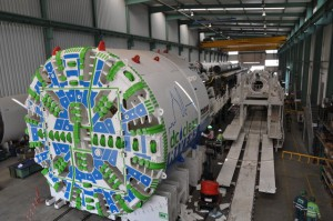 DC Water's tunnel boring machine, Lady Bird. Image by DC Water
