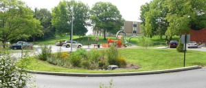 Data from hundreds of built projects across the U.S. — such as Brandon Park in Lancaster, Pa. pictured here — provide insights into how communities can reduce green infrastructure costs and plan more effectively for long-term operations and maintenance. Image by CH2M