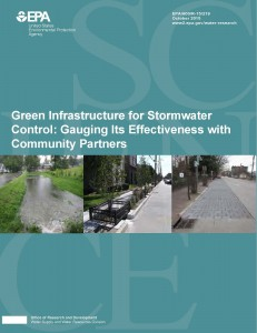 Green Infrastructure for Stormwater Control