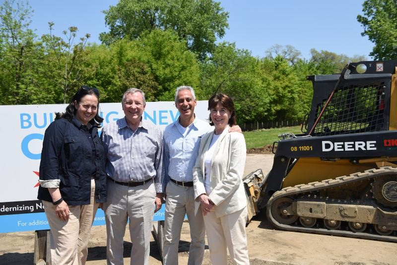 Chicago breaks ground for stormwater diversion tunnel