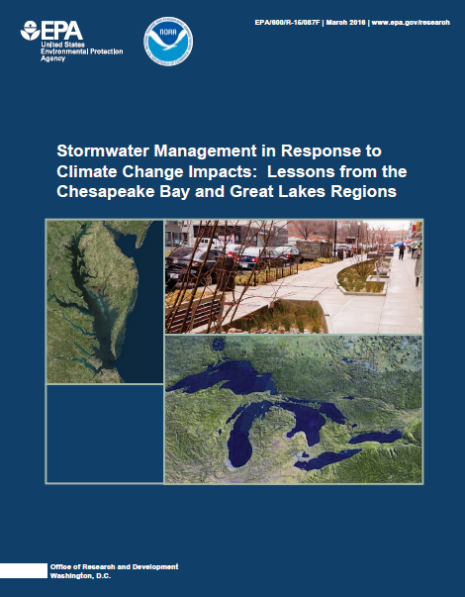U.S. EPA report advises how stormwater techniques can aid climate change challenges