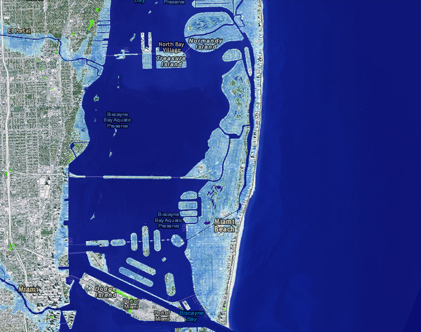 Most Us Coastlines Will Sink Faster Than The Global Average Noaa - Us-sea-level-map