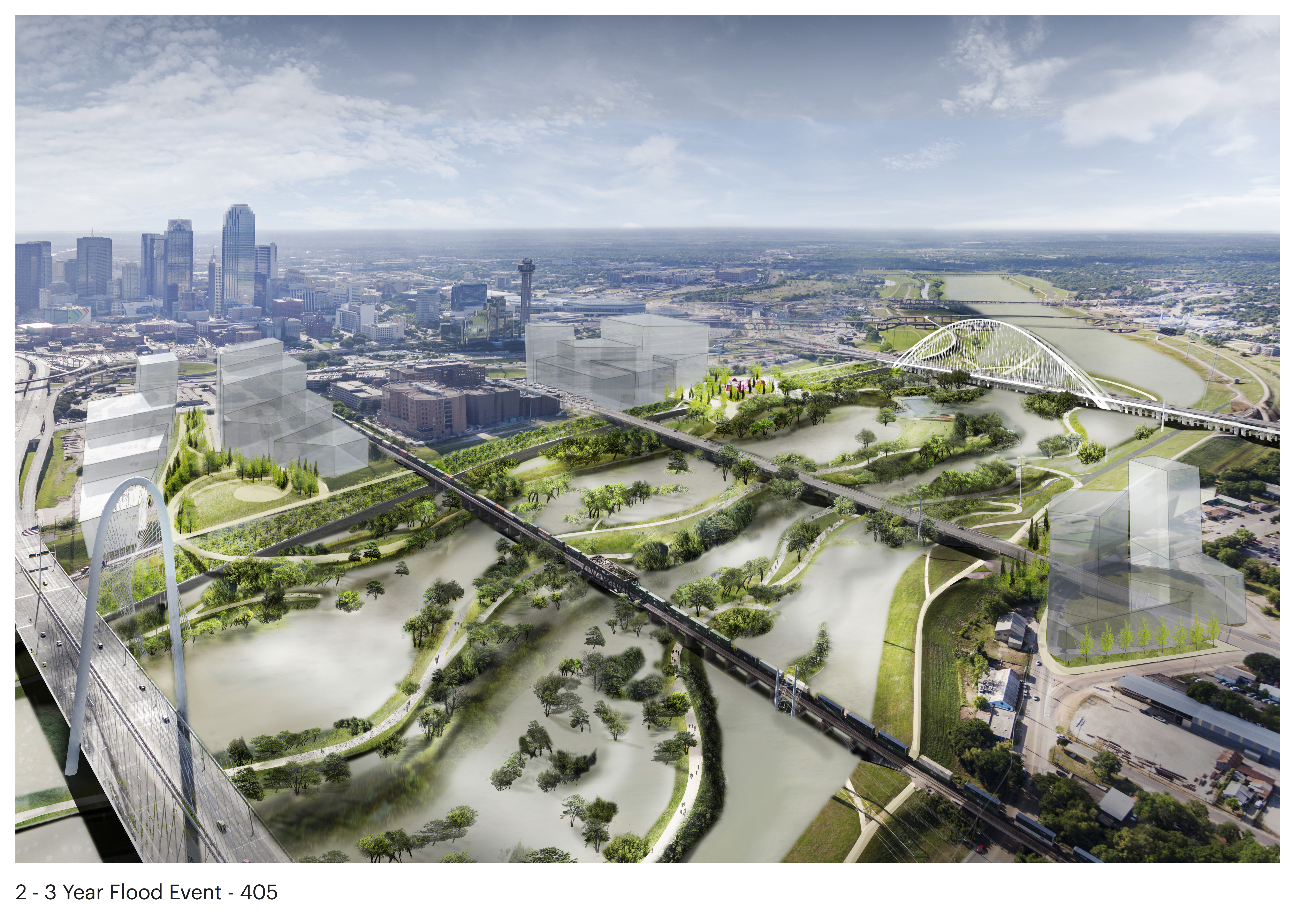 Trinity River floodplain set to become one of nation's largest and greenest urban parks