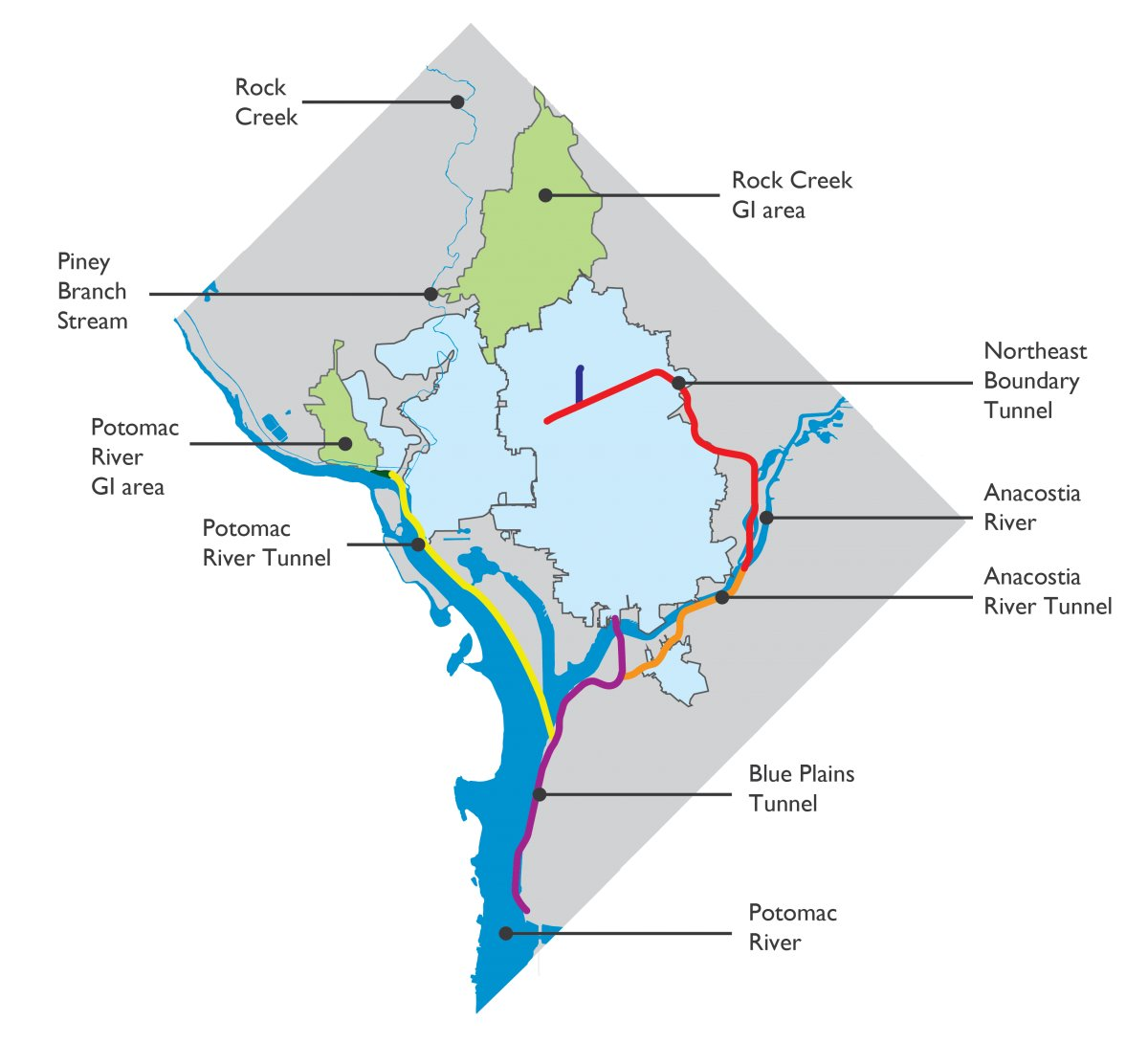 Ambitious DC Water project to cut flood risks by up to 40%