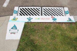 Photo: City of Dayton Department of Water / Art: Michael Samartini