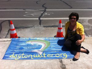 Photo: City of Dayton Department of Water / Art: Elizabeth Sumerix