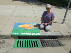 Photo: City of Dayton Department of Water / Art: Christie Linard