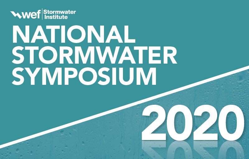 WEF National Stormwater Symposium 2020: Call for Abstracts Now Open