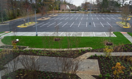 ASCE Creates Living Classroom at Headquarters Parking Lot