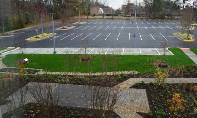 ASCE Creates Living Classroom at Headquarters Parking Lot