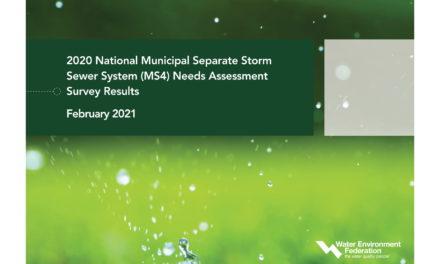2020 MS4 Survey Highlights Stormwater Funding Needs