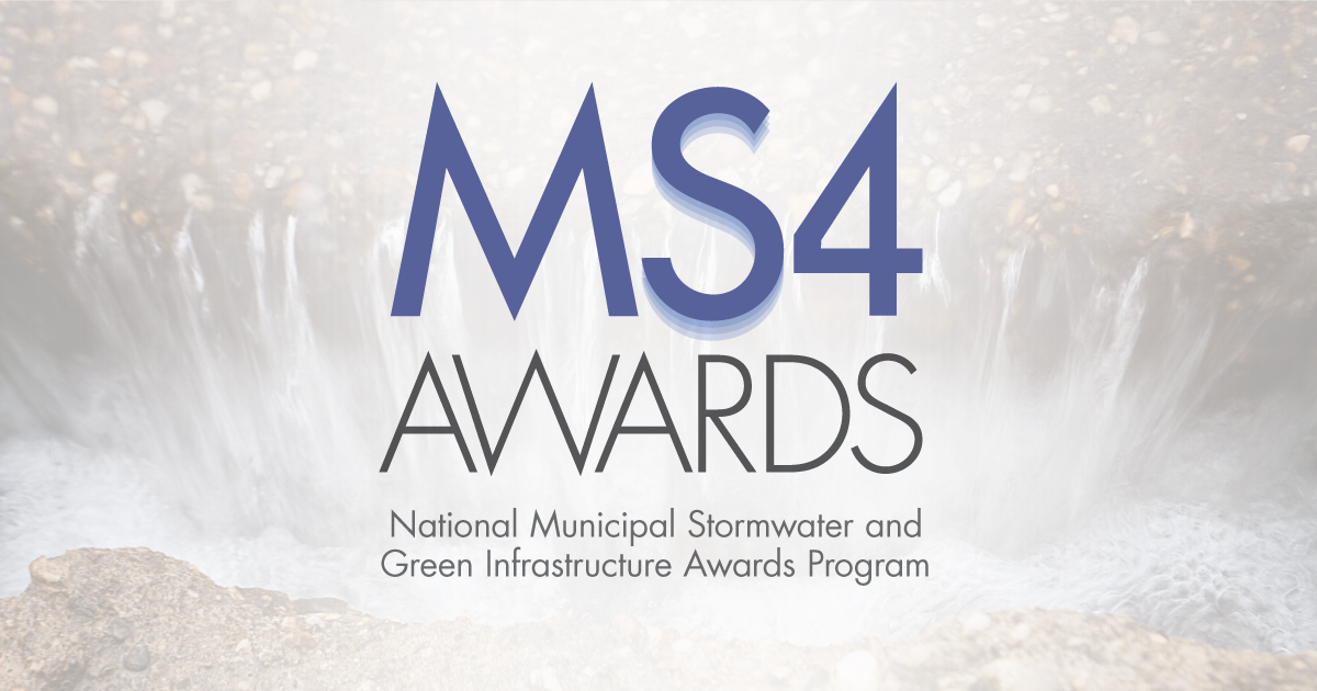 WEF MS4 Awards Celebrate Sector-Leading Stormwater Organizations