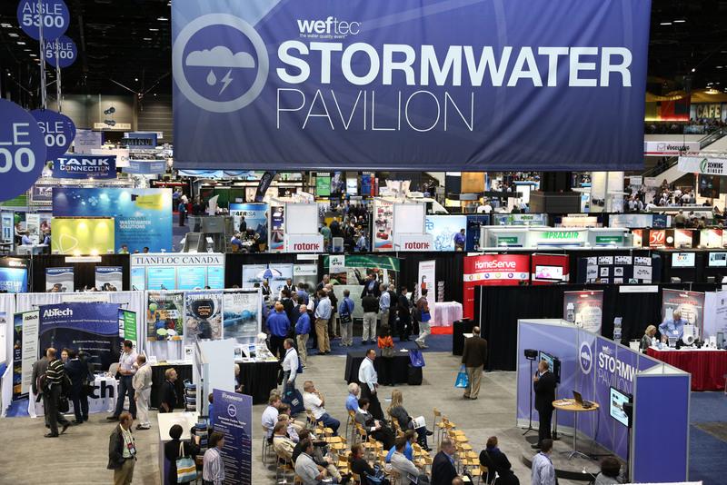 Stormwater a Key Focus of WEFTEC 2021 Program